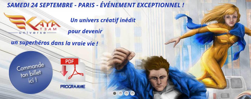 Samedi 24 septembre - PARIS