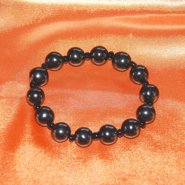 Shungite bracelet perles 9 mm | Arkanova