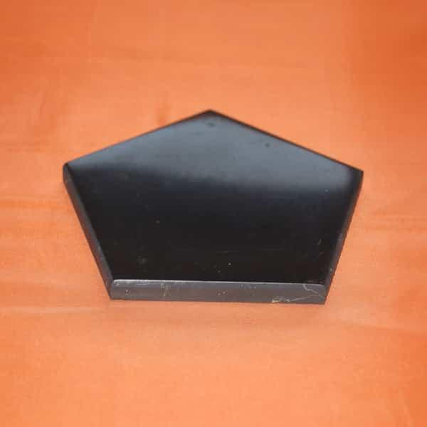 Plaque de shungite pentagone 5 x 8 cm | Arkanova