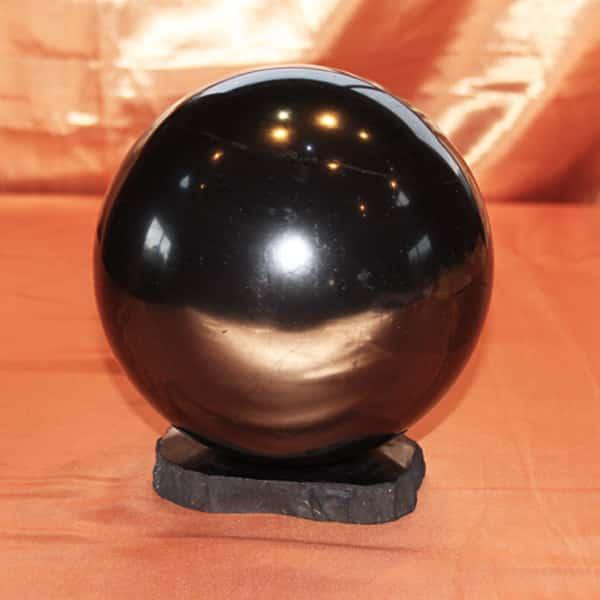 Shungite sphère polie de 15 cm | Arkanova