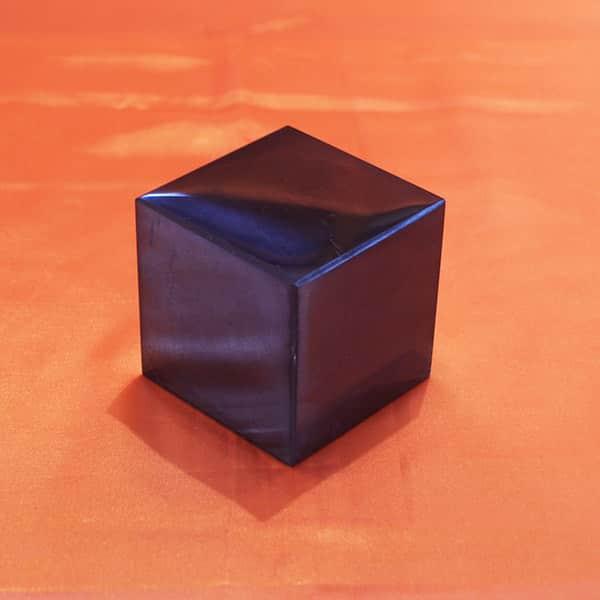 Shungite cube poli de 7 cm | Arkanova