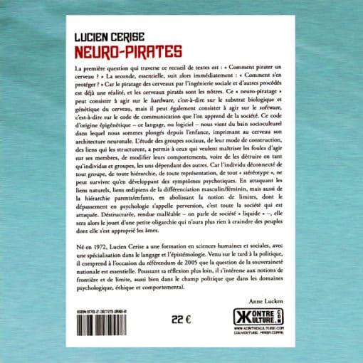 Neuro-Pirates verso - Lucien Cerise