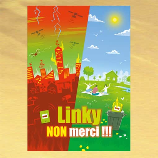 Brochure Linky Non Merci !!! couverture