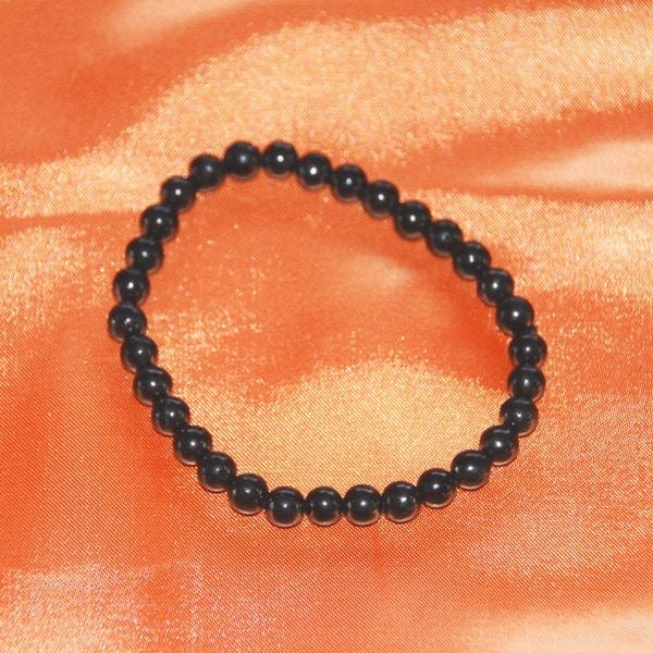 Shungite bracelet perles 6 mm | Arkanova