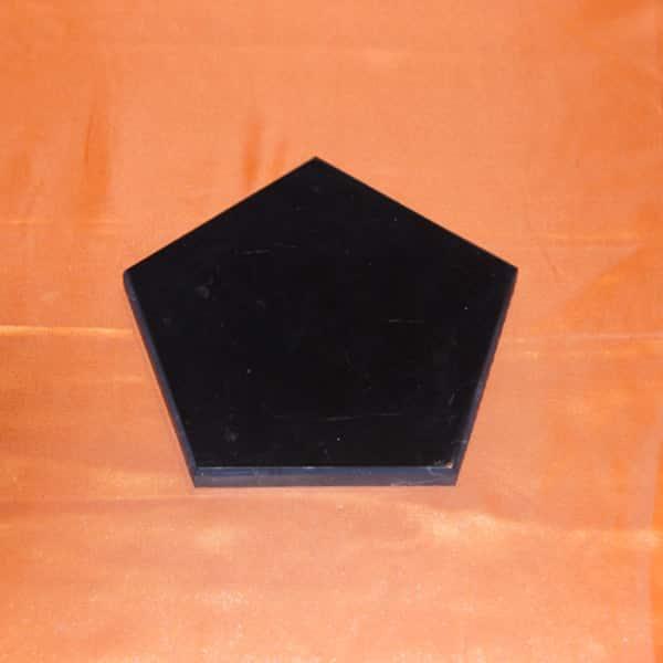 Plaque shungite pentagone 5 x 8 cm | Arkanova