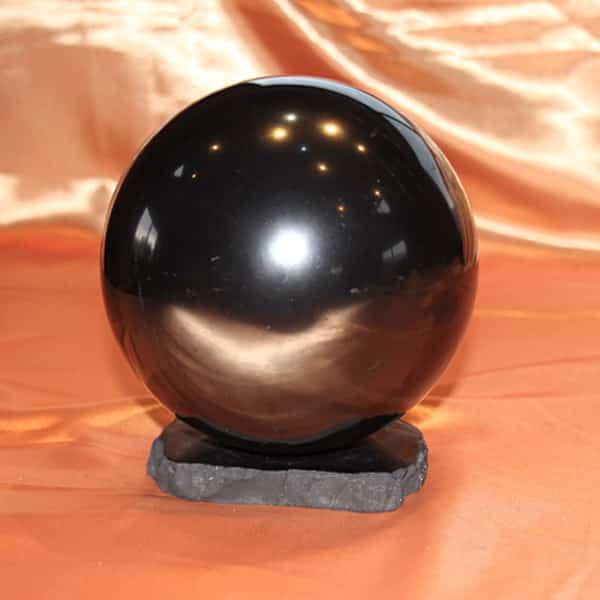 Shungite sphère polie de 14 cm | Arkanova