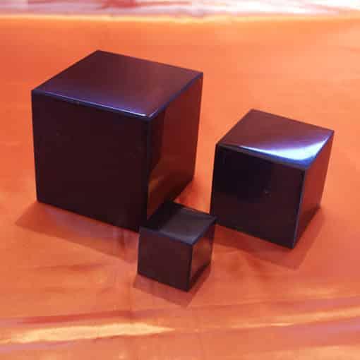 Shungite cubes polis de 4, 7 et 10 cm | Arkanova