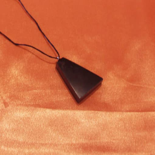 Shungite pendentif trapèze | Arkanova
