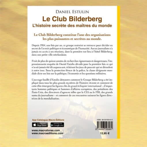 Leclub Bilderberg verso - Daniel Estulin