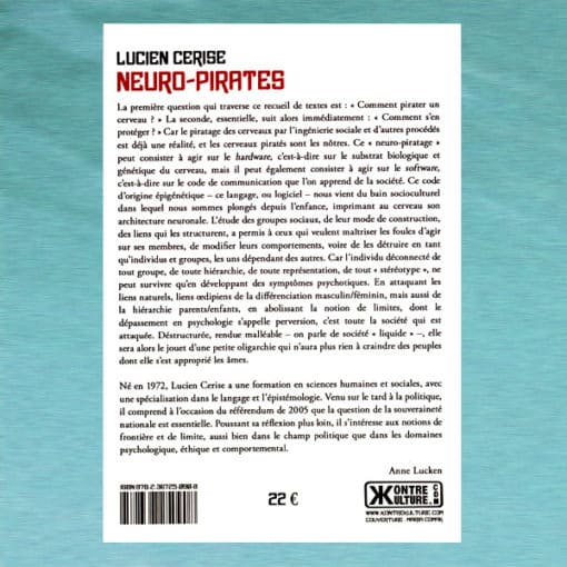 Neuro-Pirates verso - Lucien Cerise