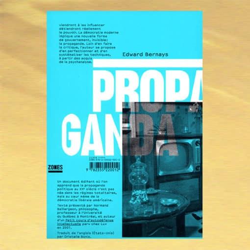 Propaganda verso - Edward Bernays