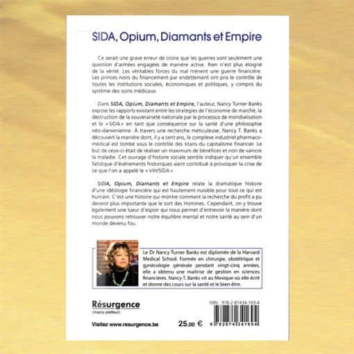 Sia, Opium, Diamants et Emire verso - Nancy Turner Banks
